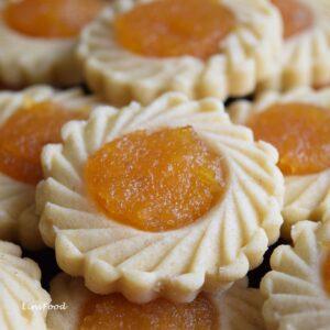 Homemade pineapple jam filled tarts
