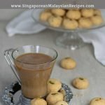 Biskut Kacang with coffee